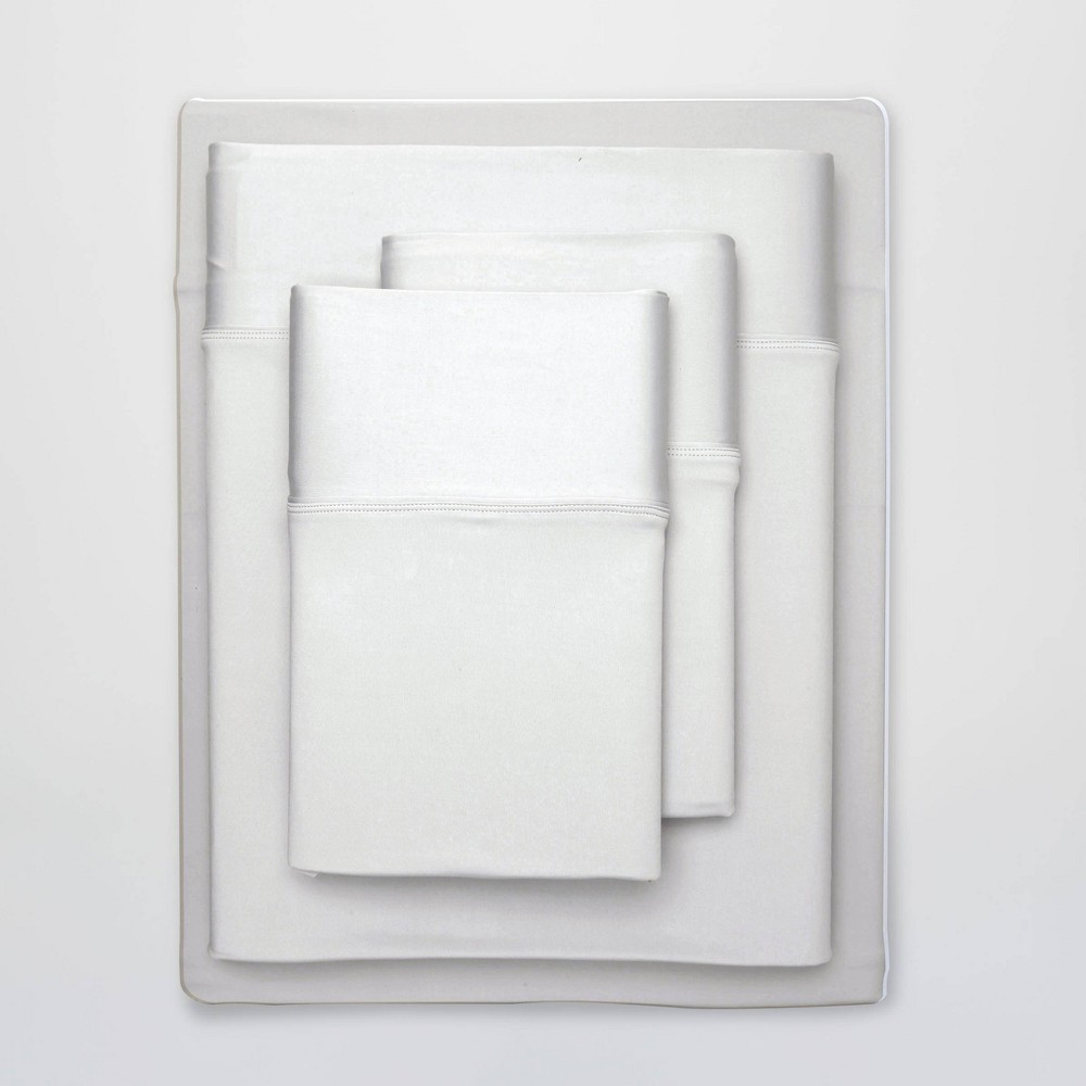 Image of Full Ultra Air Solid Sheet Set Bright White - SHEEX