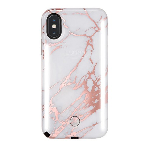 LuMee Apple iPhone XS Max Duo Marble Case - image 1 of 5