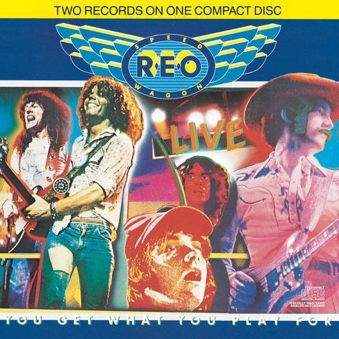 REO Speedwagon - Live/You Get What You Play For (CD) - image 1 of 1
