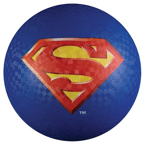 "Franklin Sports Superman Playground Ball - Blue (8.5"") - image 1 of 2"