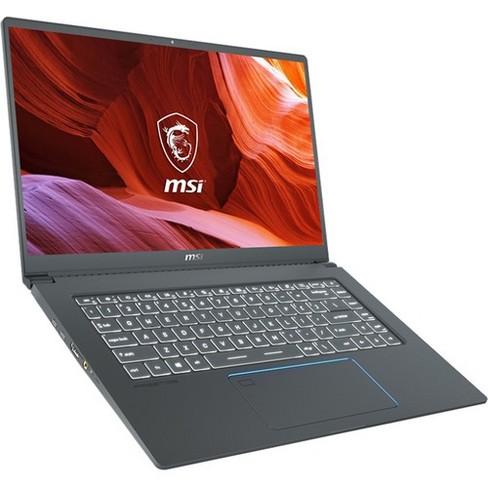Msi Prestige 15 15 6 Laptop I7 16gb Ram 512gb Ssd Gtx 1650 Max Q 4gb 10th Gen I7 10710u Hexa Core Nvidia Geforce Gtx 1650 Max Q 4gb Target