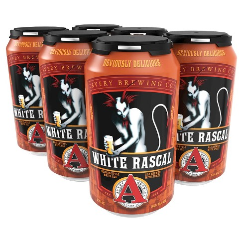 Avery® White Rascal - 6pk / 12oz Cans - image 1 of 1