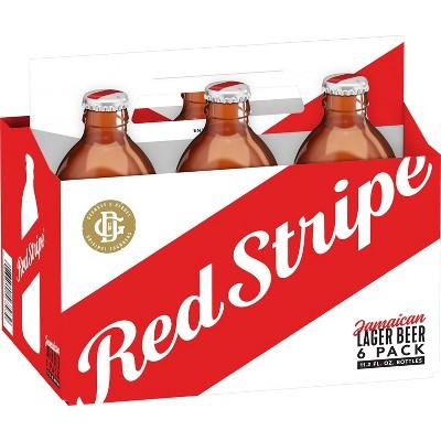 Red Stripe Lager Beer - 6pk/12oz Bottles