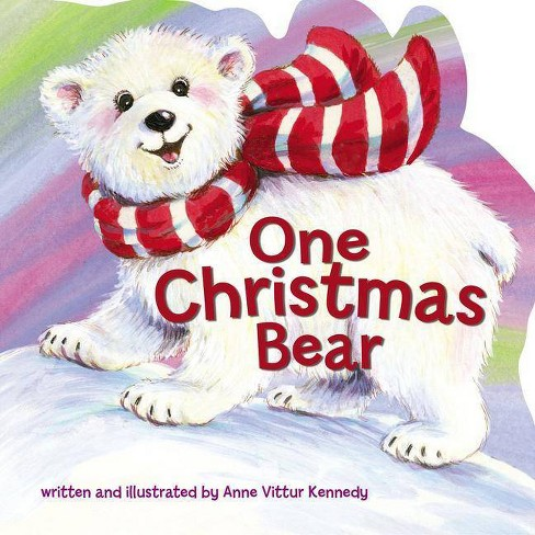One Christmas Bear - by  Anne Vittur Kennedy (Board_book) - image 1 of 1