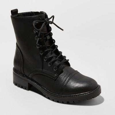Women's Kamryn Lace Up Combat Boots - Universal Thread™