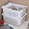 Sterilite Medium Sized White Stackable Storage & Organization Basket (24 Pack) - image 3 of 4