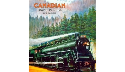 Canadian Travel Posters 2019 Calendar -  (Paperback) - image 1 of 1