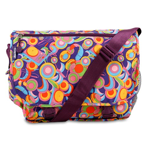 J World Terry Messenger Bag - Funky - image 1 of 4