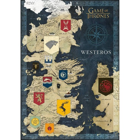 Buffalo Game Entertainment Series: Game Of Thrones - Map Of Westeros on game of thrones map print, westeros cities map, game of thrones map labeled, game of thrones ireland map, game of thrones map wallpaper, game of thrones map official, game of thrones subway map, the citadel game of thrones map, game of thrones essos map, game of thrones map of continents, game of thrones map poster, from game of thrones map, game of thrones detailed map, game of thrones map clans, game of thrones world map printable, game of thrones astapor map, game of thrones map the south, crown of thrones map, harrenhal game of thrones map,