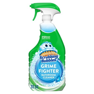 Scrubbing Bubbles Rainshower Bathroom Grime Fighter - 32 fl oz