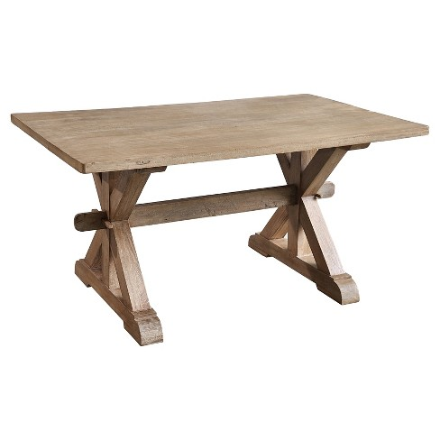 Small Chamonix Dining Table Wood/Rustic Mango/Gray Wash - Casual Elements - image 1 of 2