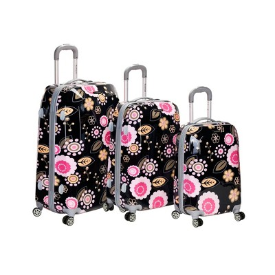 Rockland Vision 3pc ABS Luggage Set