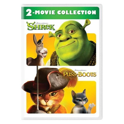 Shrek/Puss in Boots 2-Movie Collection (DVD)