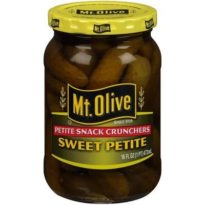 Mt. Olive Petite Snack Crunchers Sweet Petite Pickles 16oz
