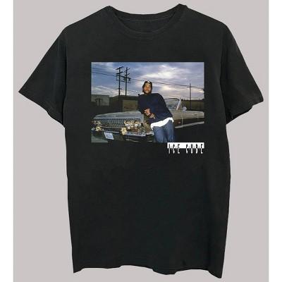 Men's Ice Cube Short Sleeve Graphic Crewneck T-Shirt - Black