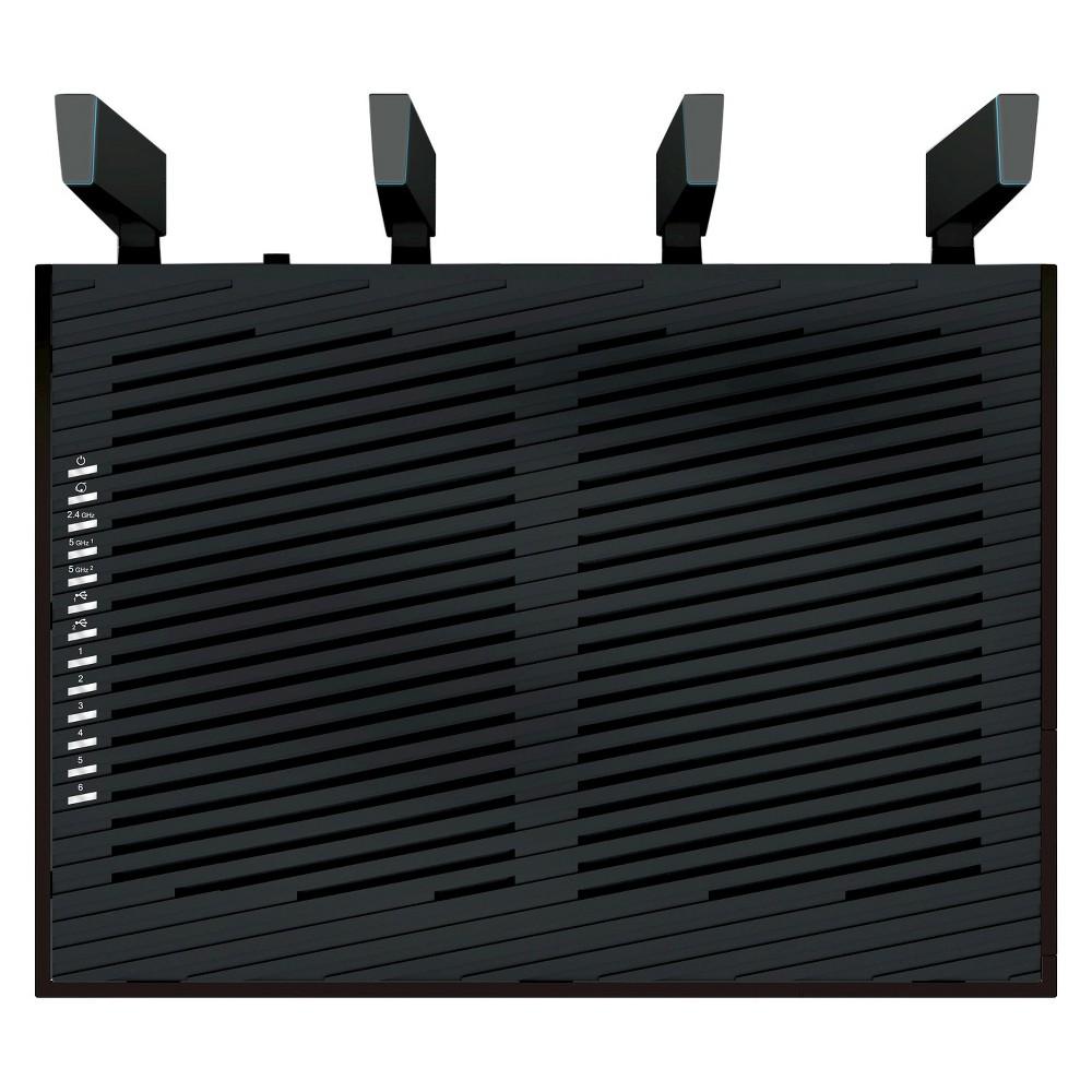 Netgear Nighthawk X8 AC5300 Tri-Band Quad-Stream WiFi Router (R8500), Black Netgear Nighthawk X8 AC5300 Tri-Band Quad-Stream WiFi Router (R8500) Color: Black.