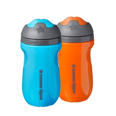 Tommee Tippee 2pk Insulated Sippee Toddler Cup - Blue/Orange - 9oz