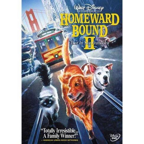 Homeward Bound II: Lost In San Francisco (DVD) - image 1 of 1