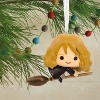 Harry Potter Hermione Granger on Broom Christmas Ornament - image 3 of 3