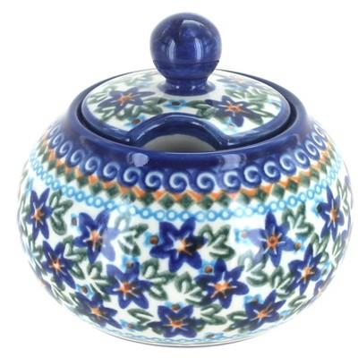 Blue Rose Polish Pottery Skylar Sugar Bowl