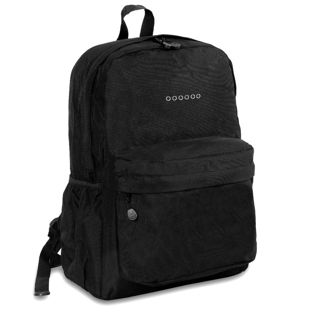 J World 17 Oz Laptop Backpack Black
