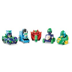 PJ Masks Dino Trouble Mini Vehicle Set 5pc