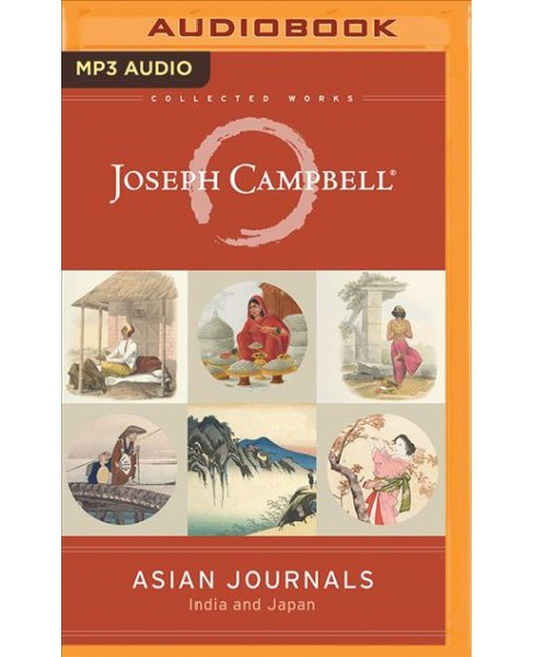 Asian Journals : India and Japan -  by Joseph Campbell (MP3-CD) - image 1 of 1