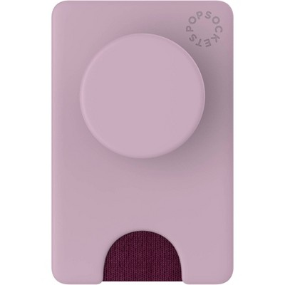 PopSockets PopWallet+ (with PopGrip Cell Phone Grip & Stand) - Blush Pink