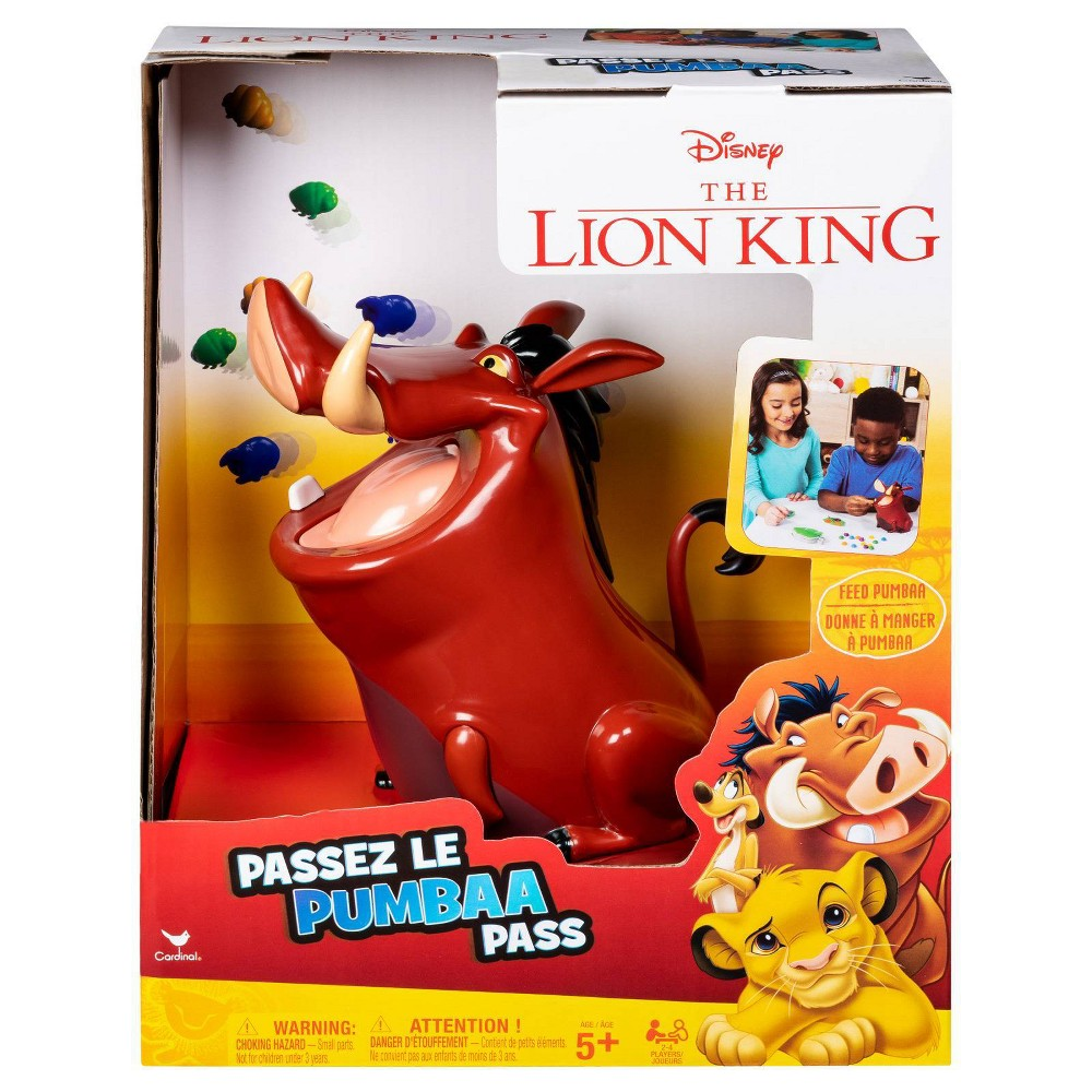 Disney The Lion King Pumbaa Pass Game was $9.29 now $4.64 (50.0% off)