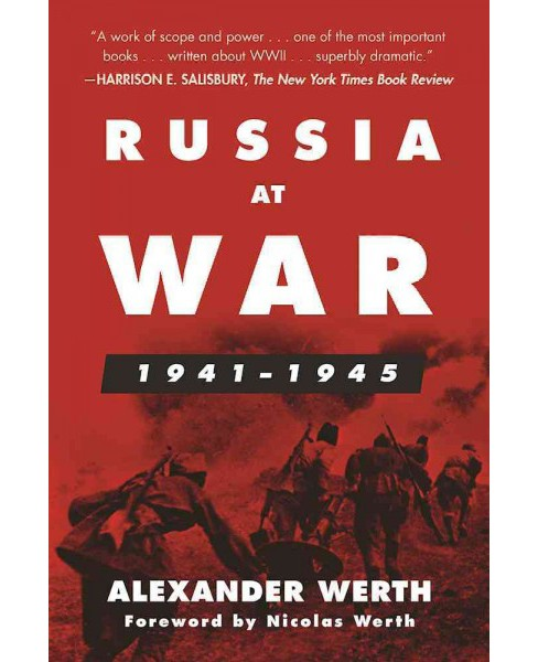 Russia at War, 1941-1945 : A History (Paperback) (Alexander Werth) - image 1 of 1