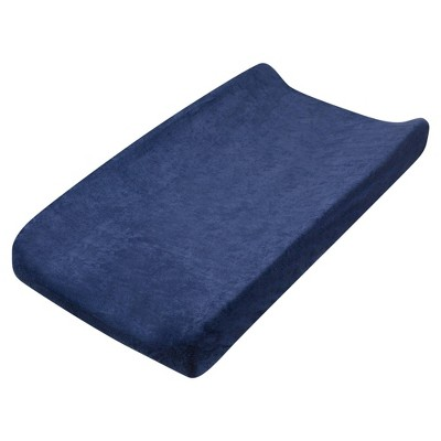 Honest Baby Organic Cotton Baby Terry Changing Pad Cover - Navy