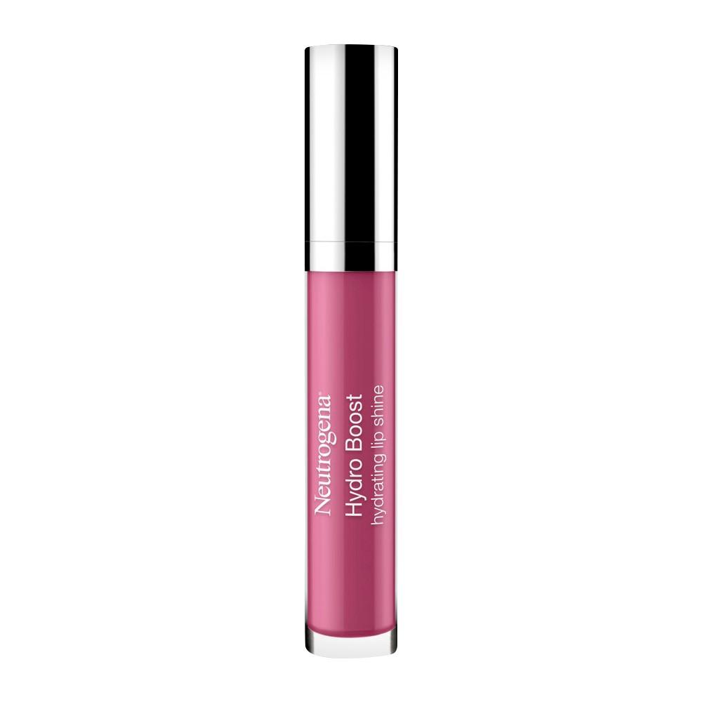 Neutrogena Hydro Boost Hydrating Lip Shine Radiant Rose 0.12 oz