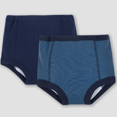 Gerber® Baby Boys' 2pk Training Pants with TPU Lining - Blue 2T-3T