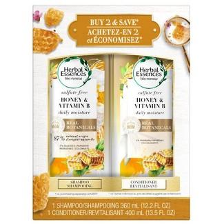 Herbal Essences Sufate Free Honey + Vit B Shampoo & Conditioner Dual Pack - 25.7 Fl Oz : Target