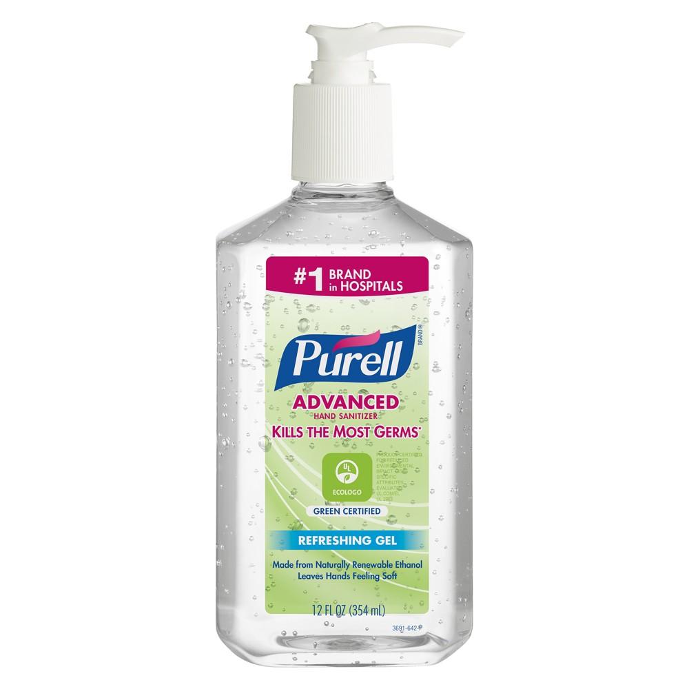 Purell Refreshing Gel Advanced Hand Sanitizer - 12 fl oz
