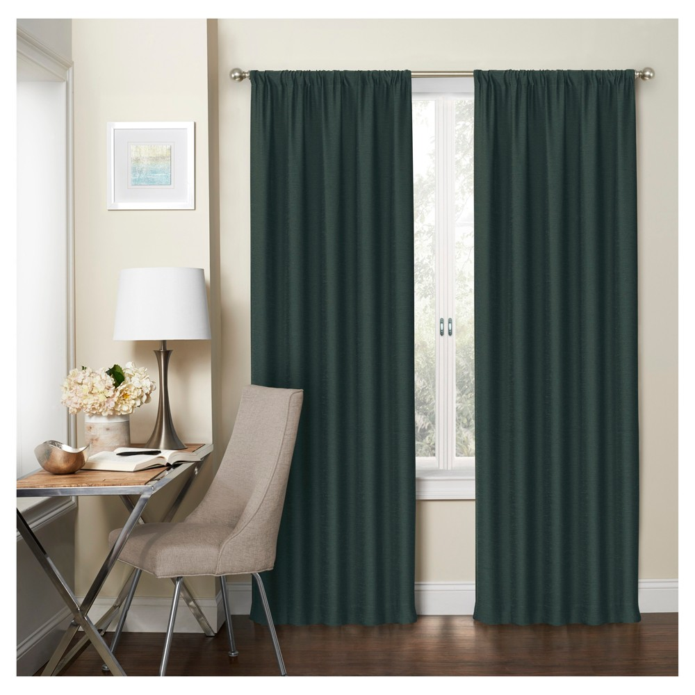 Wallace Room Darkening Curtain Panel Blue (37