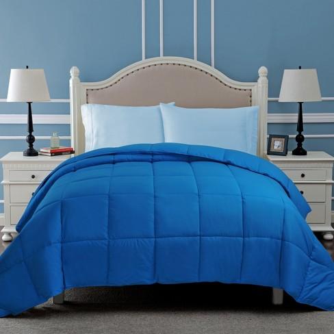 All-Season Reversible Down Alternative Comforter - Blue Nile Mills - image 1 of 4