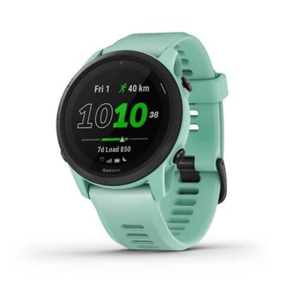 Garmin Forerunner 745 GPS Running and Triathlon Smartwatch - Neo Tropic