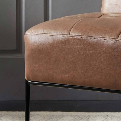 ELuxury Armless Tufted Accent Chair : Target
