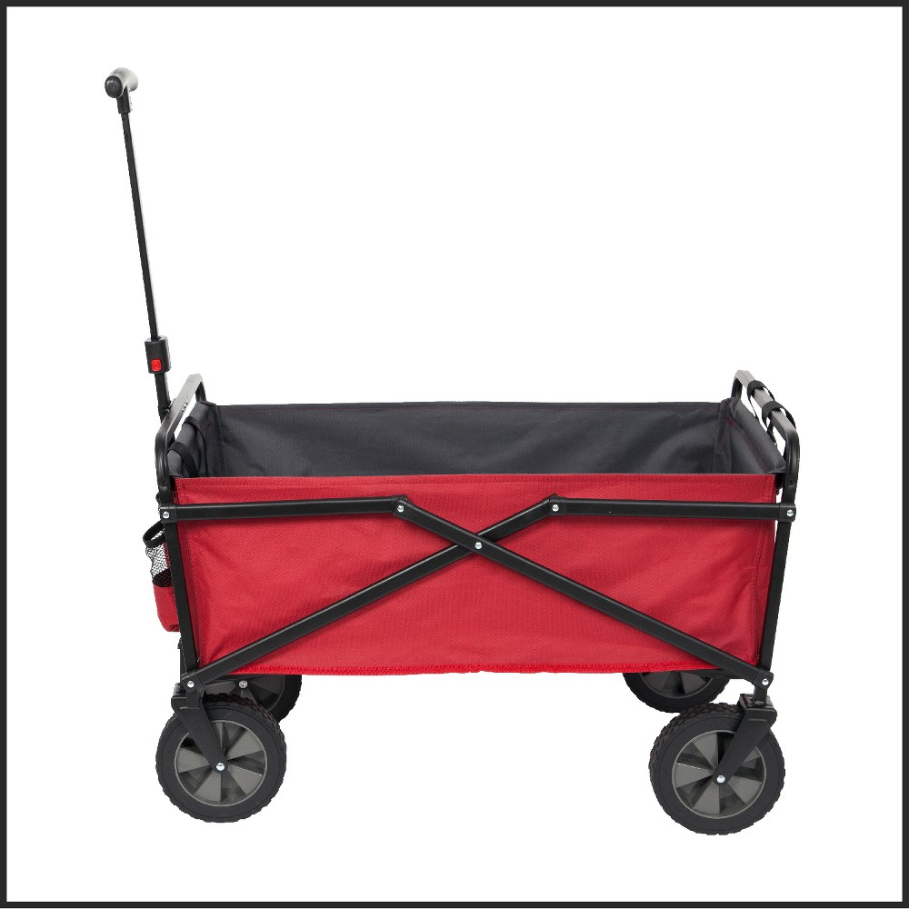 Image of Seina Utility Wagon with Side Straps, Red