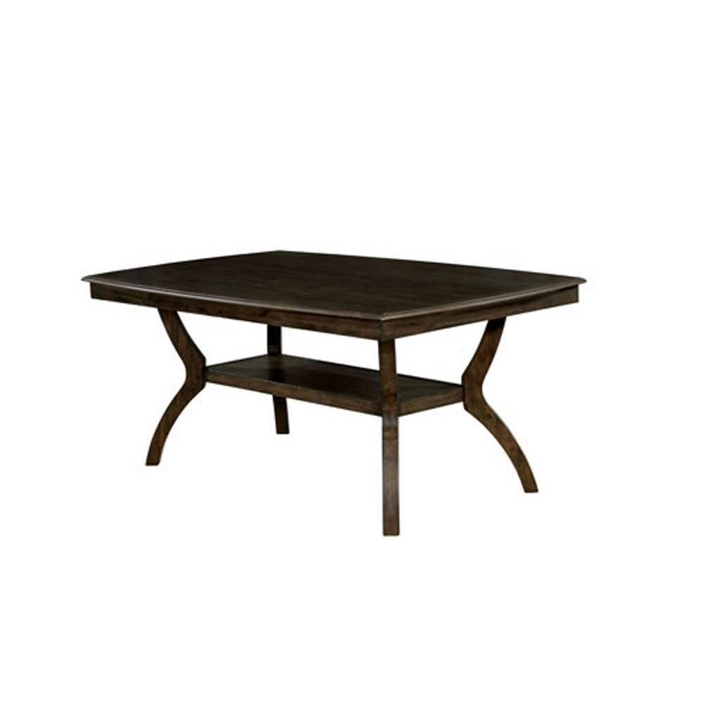Harper Wood Dining Table Walnut (Brown) - Homes: Inside + Out