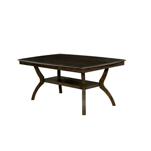 Harper Wood Dining Table Walnut Homes Inside Out Target