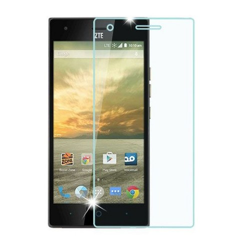 ASMYNA Clear Tempered Glass LCD Screen Protector Film Cover For ZTE Warp Elite - image 1 of 1