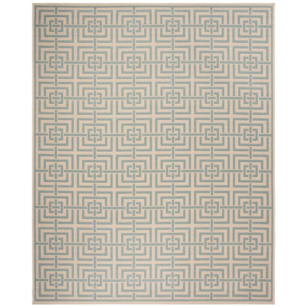 9'X12' Geometric Loomed Area Rug Cream (Ivory) - Safavieh