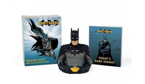 Batman Illustrated Book and Talking Bust (Paperback) - image 1 of 1