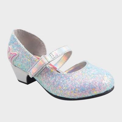 Toddler Girls' Disney Princess Ballet Flats - Silver