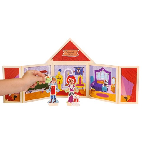 StoryWalls Fairytale Theater Magnetic Building Set - image 1 of 9