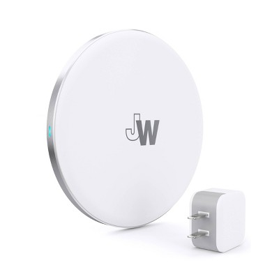 Just Wireless 5W Qi Wireless Charging Pad (with Wall Adapter) - White