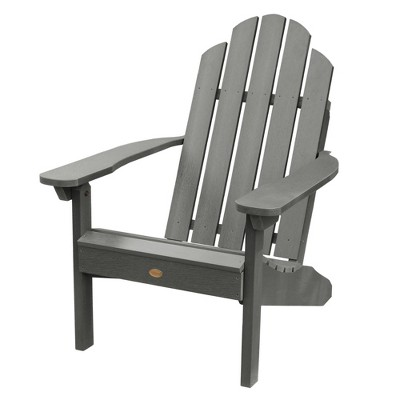 Classic Westport Adirondack Chair Coastal Teak Gray- Highwood