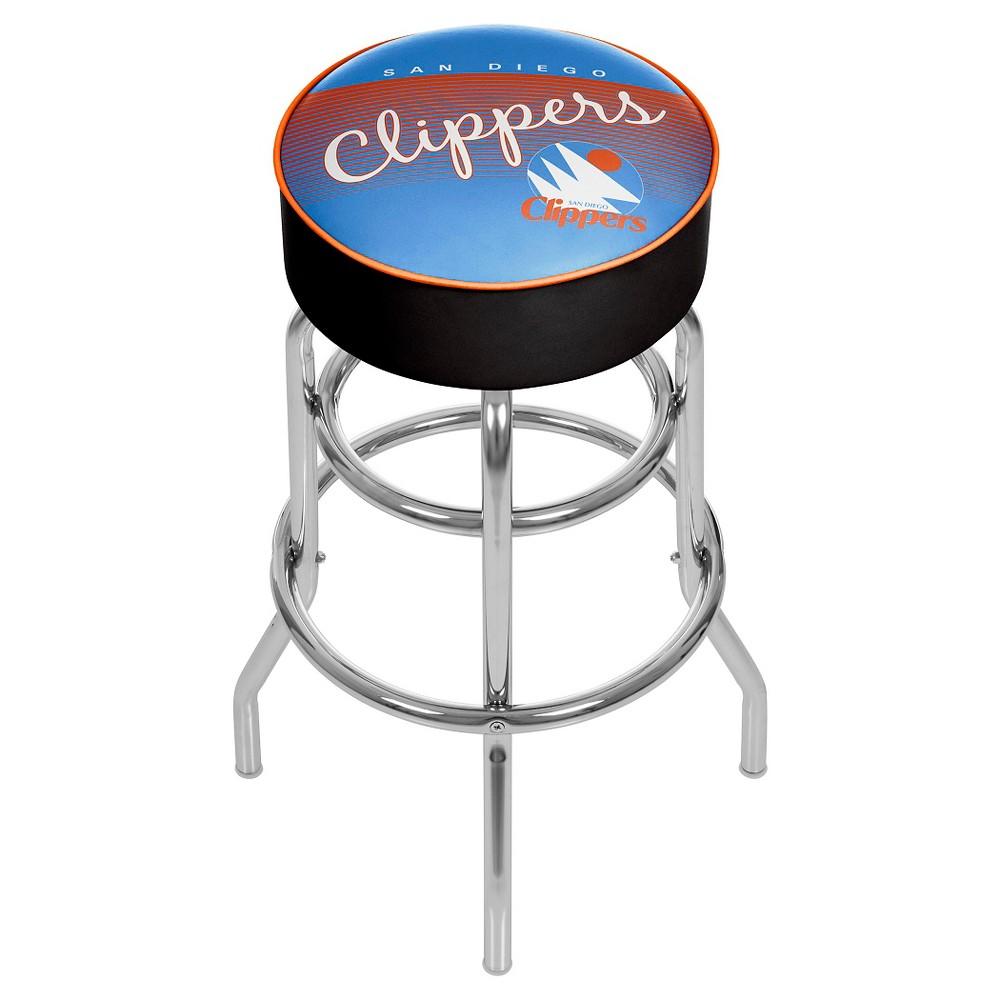Los Angeles Clippers Hardwood Classics Bar Stool